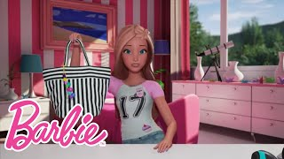 You guys REALLY wanted to see what's in my bag! I have nothing to hide! There are some... interesting things in here, though.Watch more Barbie vlogs: http://po.st/BarbieVlogsSUBSCRIBE: http://bit.ly/BarbieSubAbout Barbie:For over 57 years, Barbie has led girls on a path to self-discovery and helped them to imagine the possibilities. After over 180 inspirational careers, Barbie—along with her friends and family—continues to inspire and encourage the next generation of girls that they can be anything. Connect with Barbie Online:Visit the official Barbie WEBSITE: http://bit.ly/BarbieWebsiteLike Barbie on FACEBOOK: http://po.st/Barbie_FBFollow Barbie on TWITTER: http://po.st/Barbie_TwitterFollow Barbie on INSTAGRAM: http://po.st/Barbie_InstagramWhat's in My Bag?!  Barbie Vlog  Episode 40https://www.youtube.com/user/barbie