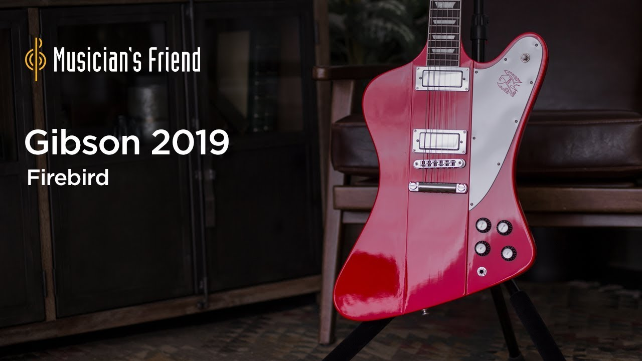 Gibson 2019 Firebird Electric Guitar Demo