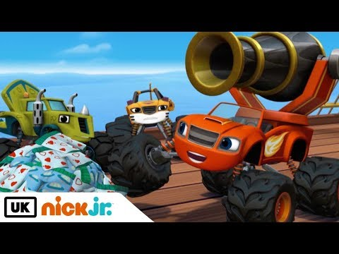 Blaze and the Monster Machines   Pegwheel the Pirate   Nick Jr. UK