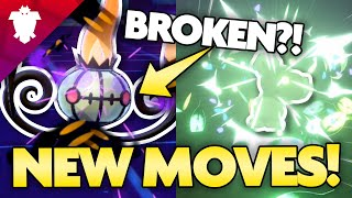 THE NEW MOVES ARE BROKEN! Pokemon Isle of Armor Move Breakdown! by aDrive