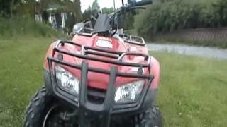 7. 2008 Honda recon 250 walkaround