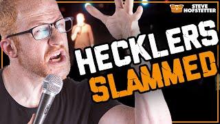 Comedian Slams Two Hecklers!