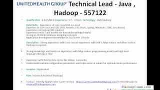 Jobs By HadoopExam.com : Hadoop And Bigdata With Java
