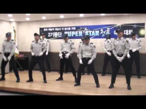 南韓警察 化身為BIG BANG 齊跳