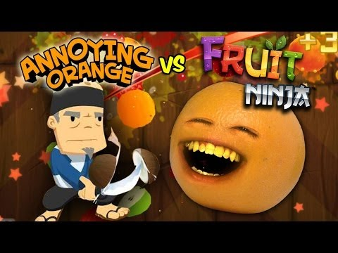 annoying - NINJA SMOKE! HAHAHA! MERCH: MUSIC! http://bit.ly/AOMusic AO TOYS! http://bit.ly/AOToys T-SHIRTS! http://store.annoyingorange.com/ iPHONE/iPOD GAME! http://bi...