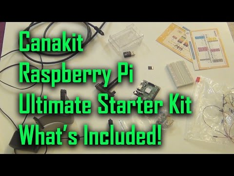 CanaKit Raspberry Pi B+ Ultimate Starter Kit[Raspberry Pi 2 kit has the same components]]