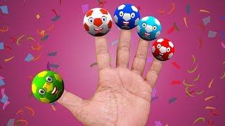 Finger Family Football | Nursery rhymes for children and kids song