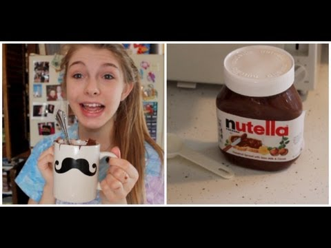 nutella - recipe: 2 tablespoons of sugar 2 tablespoons of flour 2 tablespoons of coco powder 1 egg 1 tablespoon of milk 1 tablespoon of nutella and watch and heat unti...