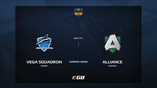 Vega Squadron vs Alliance, Game 2, Dota Summit 7, EU Qualifier