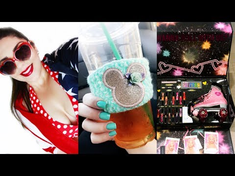 VLOG | 4th of July, Pool Party, New Nails, Big Surprise Package!