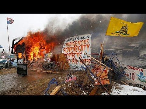 ΗΠΑ: Βαίνει προς το τέλος της η διαμαρτυρία στην Βόρεια Ντακότα