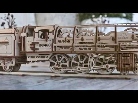 UGEARS — уникальные механические модели-игрушки - YouTube Video