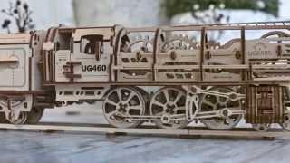3D пъзел локомотив