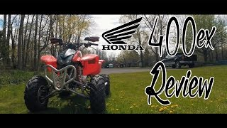 1. 2007 Honda 400ex Review (One Year of Ownership)