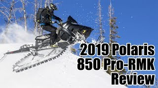 1. 2019 Polaris 850 Pro-RMK Review