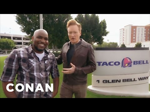 Conan Visits Taco Bell  – CONAN on TBS