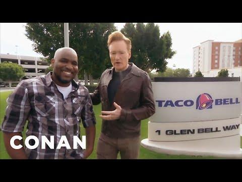 Conan na návštěvě v Taco Bell