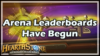Review & thoughts on the recently published Arena leaderboards  Hearthstone Gadgetzan Get Awesome Games ▻ http://www.