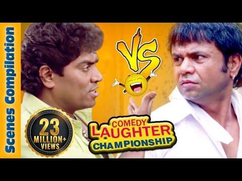 Johnny Lever Comedy Scenes  VS  Rajpal Yadav Comedy Scenes {HD} - 1 - Comedy Laughter Championship