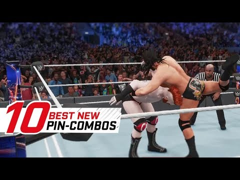 WWE 2K18 Top 10 Pin-Combos (DLC) (видео)
