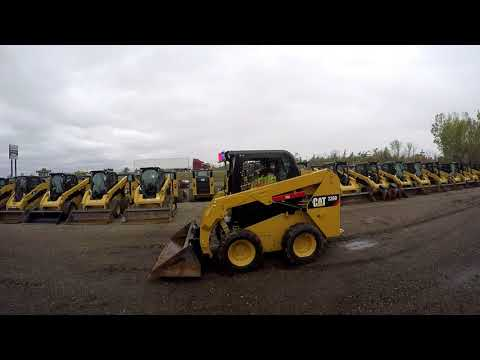 CATERPILLAR SKID STEER LOADERS 236D equipment video LYrfHGJxzsA