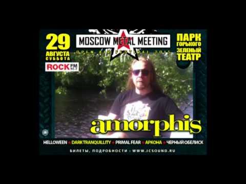 Amorphis приглашают на Moscow Metal Meeting 2015 - смотреть онлайн