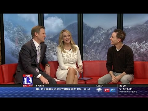 """FOX 13 Utah's """"The Place"""" Interview with TIM TIMMERMAN, HOPE OF AMERICA Director Cameron Sawyer"""