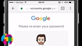 """How to reset or change your Google account password using an iPhone, iPad or iPod touch.This password change applies to all Google services such as Gmail and Google Drive.Note: Make sure you enter the """"www"""" in the link that was provided.Ful Article:http://ansonalex.com/tutorials/change-google-gmail-password-iphone-ipad-video/Published by Anson Alexander from http://AnsonAlex.com."""