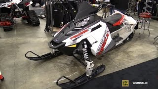 3. 2014 Polaris 600 Switchback Assault 144 Snowmobile - Walkaround - 2014 Toronto ATV Show