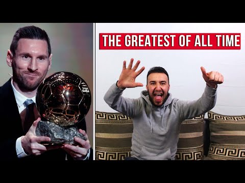 MESSI WINS HIS 6th BALLON D'OR & IS OFFICIALLY THE GREATEST OF ALL TIME ! | REACTION