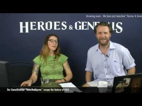 Heroes & Generals Launch Devstream!