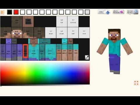 Minecraft - Jak zrobić własnego skina