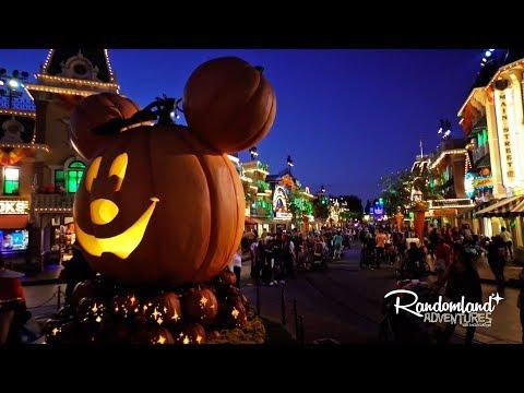 Halloween Party at Disneyland!! Mickey