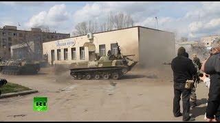 Tak się wali drifty czołgiem na służbie!