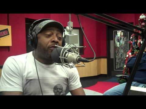 Comedian Donnell Rawlings AKA Ashy Larry on the Tom Joyner Morning Show