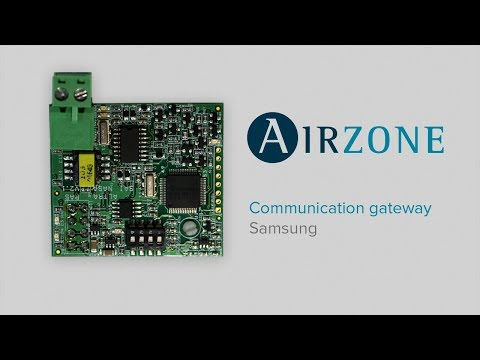 How to install the Samsung communication gateway