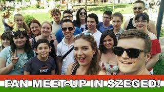 ► Facebook Group: http://bit.ly/MagyarWeasels► Meet-Up Information: http://bit.ly/MagyarMeetUp---- ↓↓↓ Click 'SHOW MORE' below to see more information ↓↓↓► Feliratkozás: http://bit.ly/TravellingWeasels► Subscribe: http://bit.ly/TravellingWeaselsWe have arrived in Hungary! Not only that, but we had the BEST arrival we have ever had! If you haven't seen it yet, watch Vlog number one here: http://bit.ly/HungaryVlogs2017 Today we spoke some Hungarian in Szeged with our fans! Special thanks to the Tiszavirág Hotel* http://tidd.ly/815010f6 and Szegventure tours https://www.facebook.com/SzegAdventure! Join our Facebook Group for more information on upcoming meet-ups: http://bit.ly/MagyarWeasels Also, read the blog post for all our meet-up dates: http://bit.ly/MagyarMeetUpHave you seen all the 'Speaking Hungarian' videos? Watch them now:PART 1: https://youtu.be/FsKQEPJXKJMPART 2 Megszentségteleníthetetlenségeskedéseitekért: https://youtu.be/-IXg4NR9zaUPART 3 Hungarian Tongue Twisters: https://youtu.be/VXS0RLTm8_gPART 4 A Magyar ÁBÉCÉ: https://youtu.be/MnU7jC7QJAMPART 5 ANGOLOK MAGYARUL: https://youtu.be/RgI88oSpYlIPART 6 NEMZETI ÜNNEP: https://youtu.be/_hspDZgFcOUPART 7 SZÁMOK: https://youtu.be/QeXL5r6AcFUPART 8 KASSZÁS ERZSI: https://youtu.be/4l_iKWieOd0PART 9 ÁLLATOK: https://youtu.be/ds-Q7uPlFnUPART 10 MAGYAR YOUTUBERS: https://youtu.be/0KwPpTBh4pIPART 11 MAGYAR MUSIC: https://youtu.be/WTLwXYxecdkPART 12 ÉTEL: https://youtu.be/H6TVecbZTggPART 13 JOCI PÁPAI: https://youtu.be/DxMrycK-aVIPART 14 MAGYAR APP: https://youtu.be/YQeYLQ0h7JMPART 15 MAGYAR ROCK: https://youtu.be/fxVcwjJxASM PART 16 TMI TAG: https://youtu.be/uqiBJ0eu9OsPART 17 YOUTUBERS: https://youtu.be/SE4t8Y3-82kPART 18 TALÁMÁNYOK: https://youtu.be/alTZQydU__MPART 19 PALVIN BARBARA: https://youtu.be/aabjW0tDi10► Watch our Hungary Playlist here (WE VISITED HUNGARY!): http://bit.ly/HungaryPlaylist 🇭🇺► All Speaking Hungarian Videos: https://youtu.be/FsKQEPJXKJM?list=PLd5RMUGwfy3ss-4hQ6sHOxGLMPOTtu_89► Binge-watch o
