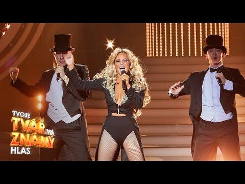 """Markéta Konvičková jako Beyonce  """"Love On Top """"   Tvoje tvář má známý hlas"""