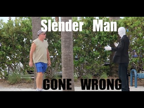 Prank Gone WRONG Slender Man In Public (Chased By Cops)