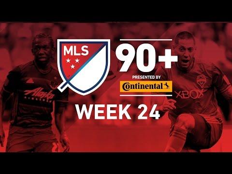 MLS Week 24:  Villa Keeps Scoring, Sounders Keep Winning