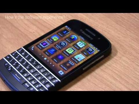 blackberry - BlackBerry Q10 Snapshot Review BlackBerry released the Z10 earlier in the year as its first BlackBerry 10 smartphone. With new hardware, new software, and av...
