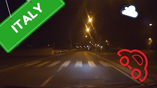Scafati Italy  city photos : Driving through Pompeii, Scafati, S.A.Abate - Italy - Night
