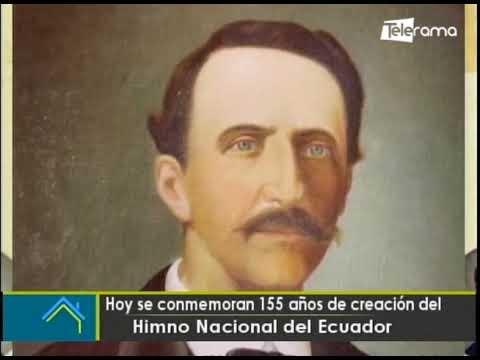 Hoy se conmemoran 155 años de creación del Himno Nacional del Ecuador