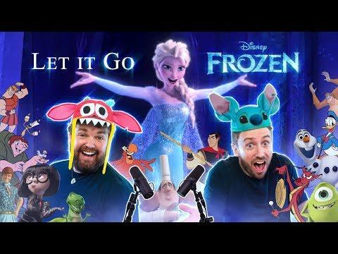 Frozen: Let It Go - All Disney Characters Sing
