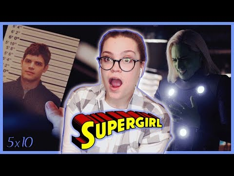 "Supergirl Season 5 Episode 10 ""The Bottle Episode"" REACTION!"