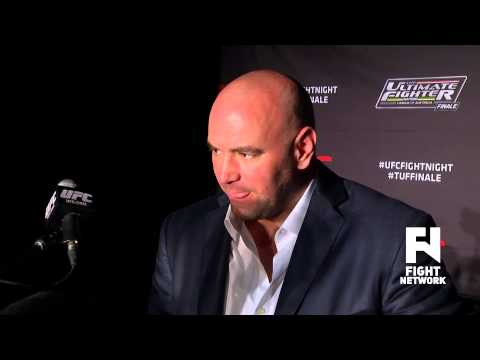 TUF Nations Finale: Dana White Post Fight Scrum