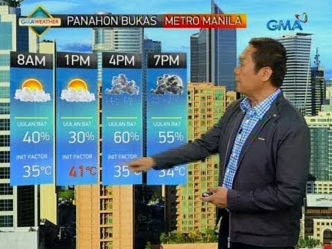 24 Oras: Weather update as of 6:54 p.m. (May 21, 2018) (видео)