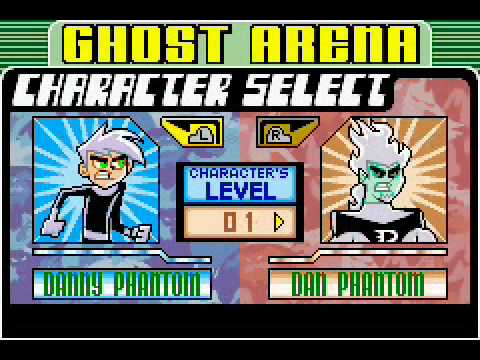 Danny Phantom - The Ultimate Enemy Passwords