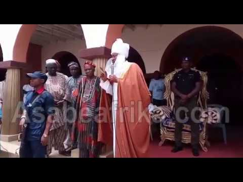Video Of How Oluwo Declared Self Emir Emerge. Says 'I Need More Enemies' (Part 1)