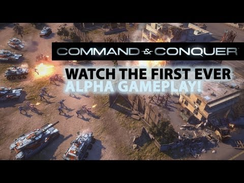 Frostbite 2 Command & Conquer Gameplay Footage Looks Impressive